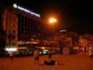 hotel melia las canteras entrenamientos ultimate frisbee